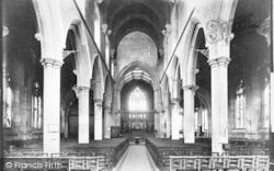 Ipswich, St Mary Le Tower Nave 1896
