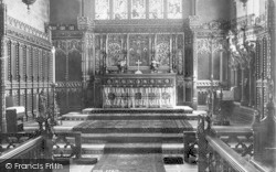 Ipswich, St Mary Le Tower Reredos 1896
