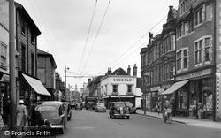 St Matthew's Street c.1961, Ipswich