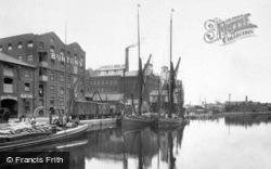 St Peter's Dock 1921, Ipswich