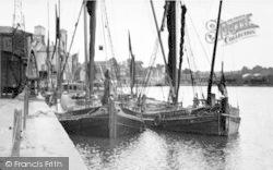 St Peter's Dock c.1955, Ipswich