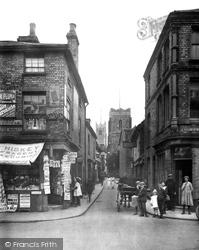 St Stephen's Lane 1921, Ipswich