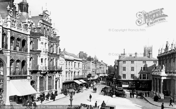 Ipswich, Tavern Street 1896