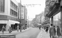 Ipswich, Tavern Street c.1950