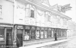 The Ancient House c.1880, Ipswich