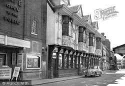 The Ancient House c.1955, Ipswich