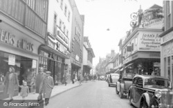 The Butter Market c.1950, Ipswich