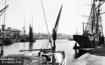 Ipswich, the Docks 1893