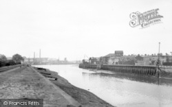 Ipswich, The Docks c.1950
