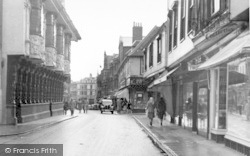 Ipswich, The Old House c.1950