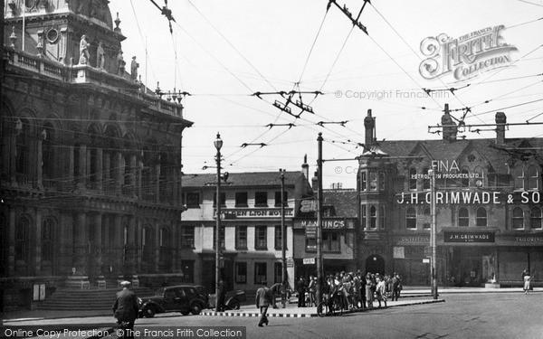 Ipswich, The Town Hall C.1950