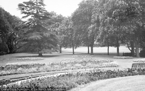 Photo of Ipswich, The Upper Arboretum, Christchurch Park c.1955