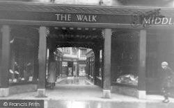 The Walk c.1950, Ipswich