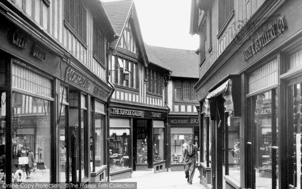 Photo of Ipswich, the Walk c1955