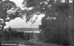 View From Gainsborough Lane 1921, Ipswich