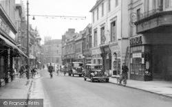 Westgate Street c.1950, Ipswich