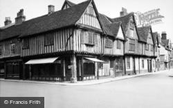 Wolsey's Birthplace, Silent Street 1950, Ipswich
