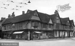 Wolsey's Birthplace, Silent Street c.1955, Ipswich