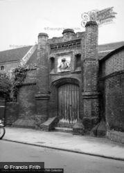 Wolsey's College 1950, Ipswich