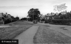 Irby, Irby Road c.1955