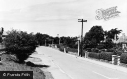 Irby, Thurstaston Road c.1955