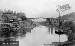 Bridge From The River Severn 1892, Ironbridge