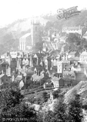 From Broseley Road 1892, Ironbridge