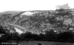 From Opposite Hill 1896, Ironbridge