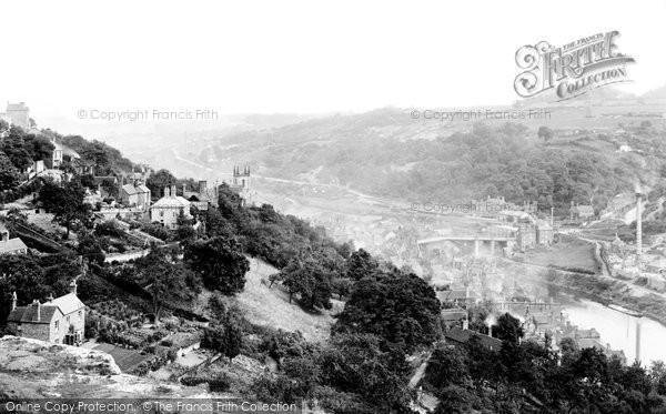 Photo of Ironbridge, From Rotunda  1892