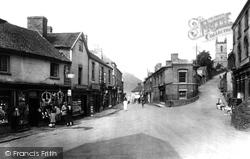 High Street And Church Street 1925, Ironbridge