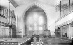 St Luke's Church Interior 1904, Ironbridge