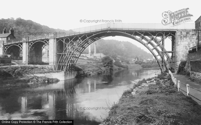 Photo of Ironbridge, The Bridge 1904