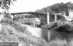 The Bridge c.1960, Ironbridge