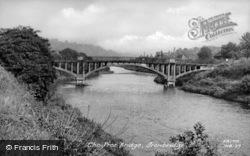 The Free Bridge c.1955, Ironbridge