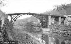 The Iron Bridge c.1955, Ironbridge