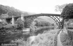 The Iron Bridge c.1960, Ironbridge