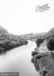 The River c.1960, Ironbridge