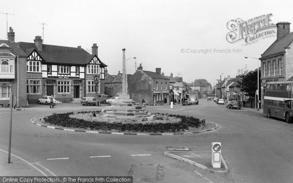 Photo of Irthlingborough, the Cross 1969