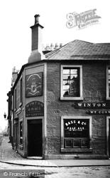 Winton Arms, Montgomery Street 1904, Irvine