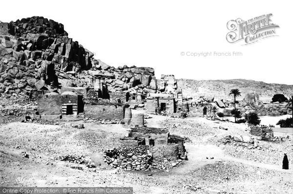 Photo of Island Of Bigeh, Antiquities 1857