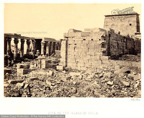 Photo of Island Of Philae, 1857