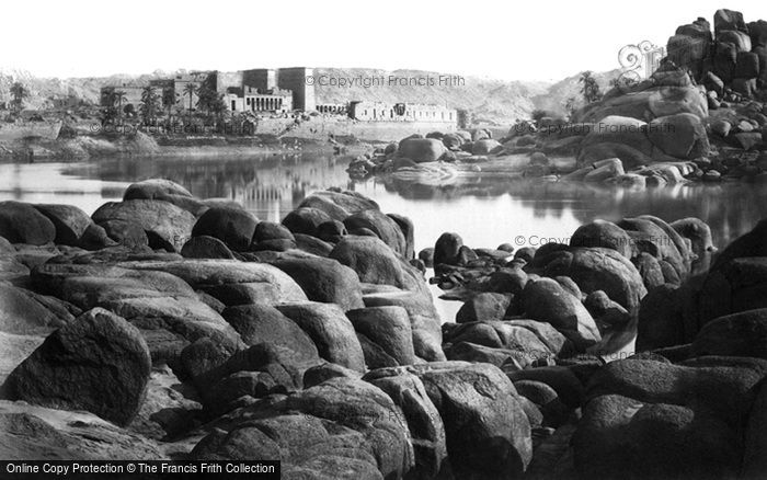 Photo of Island Of Philae, On Approach 1860
