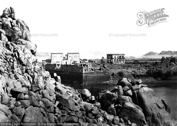 Photo of Island Of Philae, South End 1860