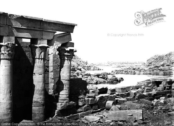 Photo of Island Of Philae, View Looking North 1857