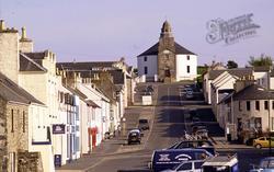 Bowmore Main Street And Round Church 2004, Islay