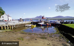 Port Askaig Harbour And Paps Of Jura Beyond c.1995, Islay