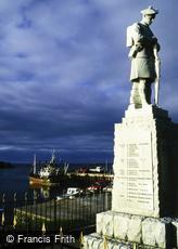 Islay, War Memorial, Port Ellen c1995