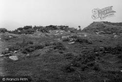 Isle Of Colonsay, Dun Eibhinn, Entrance From Within 1955