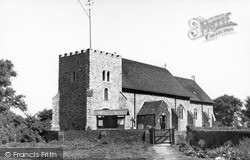 Isle Of Grain, St James Church c.1955