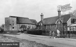 Isle Of Grain, St James' Parish Church And School c.1960